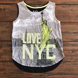 Justice -NYC tank top
